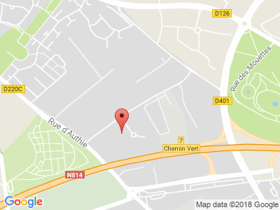 Plan Google Stage recuperation de points à Caen proche de Mondeville
