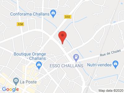 Plan Google Stage recuperation de points à Challans