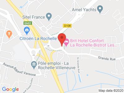 Plan Google Stage recuperation de points à Périgny