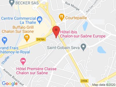 Plan Google Stage recuperation de points à Chalon-sur-Saône