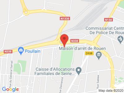 Plan Google Stage recuperation de points à Rouen