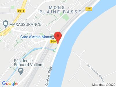 Plan Google Stage recuperation de points à Athis-Mons proche de Draveil