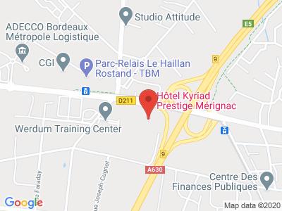 Plan Google Stage recuperation de points à Mérignac