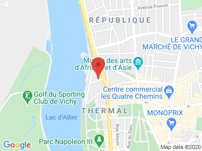 Plan Google Stage recuperation de points à Vichy