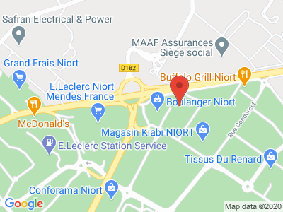 Plan Google Stage recuperation de points à Niort