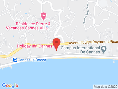 Plan Google Stage recuperation de points à Cannes proche de Mandelieu-la-Napoule