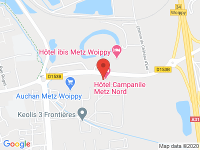 Plan Google Stage recuperation de points à Woippy