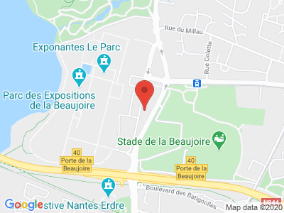 Plan Google Stage recuperation de points à Nantes proche de Rezé