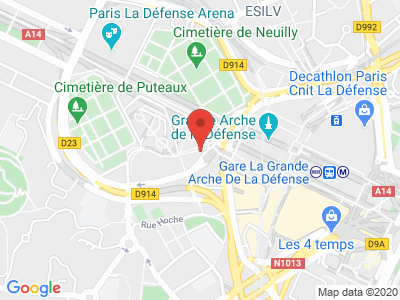 Plan Google Stage recuperation de points à Puteaux proche de Nanterre