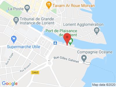 Plan Google Stage recuperation de points à Lorient