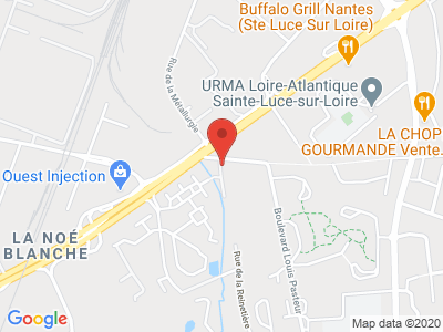 Plan Google Stage recuperation de points à Sainte-Luce-sur-Loire proche de Ancenis