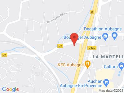 Plan Google Stage recuperation de points à Aubagne