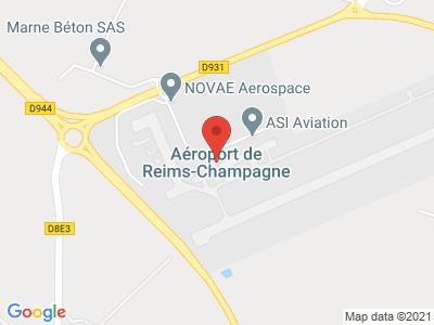 Plan Google Stage recuperation de points à Prunay proche de Reims