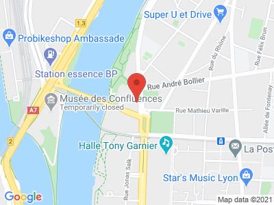 Plan Google Stage recuperation de points à Lyon