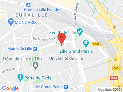 Plan Google Stage recuperation de points à Lille