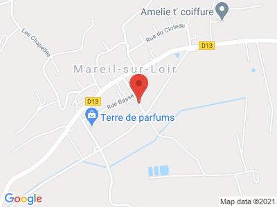 Plan Google Stage recuperation de points à Mareil-sur-Loir proche de Le Mans