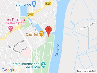 Plan Google Stage recuperation de points à Rochefort