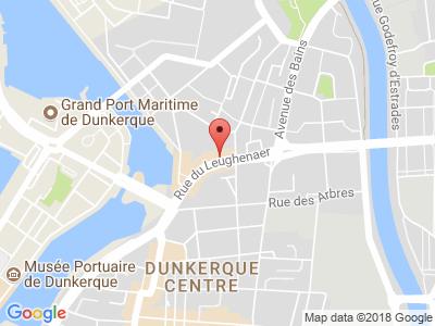 Plan Google Stage recuperation de points à Dunkerque proche de Spycker