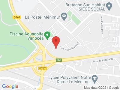 Plan Google Stage recuperation de points à Vannes