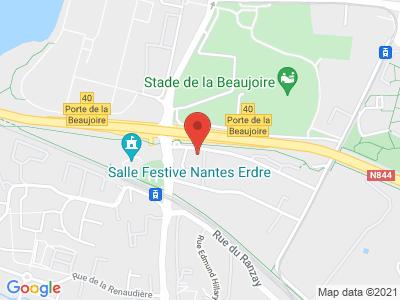 Plan Google Stage recuperation de points à Nantes