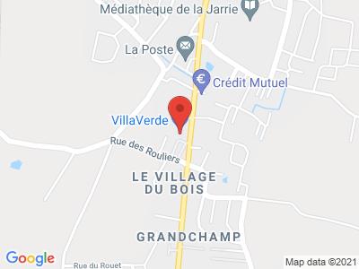 Plan Google Stage recuperation de points à Les Sables-d'Olonne
