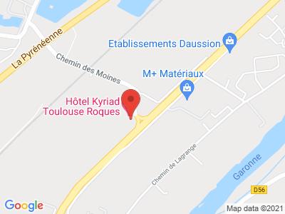 Plan Google Stage recuperation de points à Roques proche de Auterive