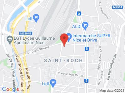 Plan Google Stage recuperation de points à Nice
