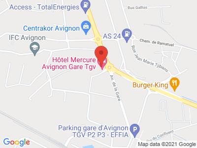 Plan Google Stage recuperation de points à Avignon