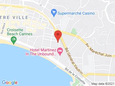 Plan Google Stage recuperation de points à Cannes