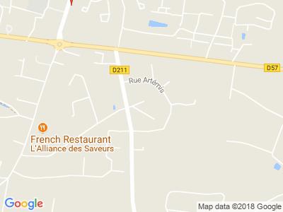 Plan Google Stage recuperation de points à Bonchamp-lès-Laval proche de Mayenne
