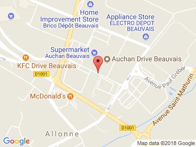Plan Google Stage recuperation de points à Beauvais