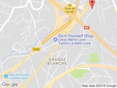 Plan Google Stage recuperation de points à Tassin-la-Demi-Lune proche de Lyon