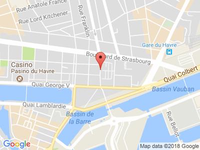 Plan Google Stage recuperation de points à Le Havre