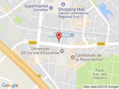 Plan Google Stage recuperation de points à Évry