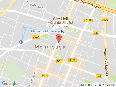 Plan Google Stage recuperation de points à Montrouge proche de Ivry-sur-Seine