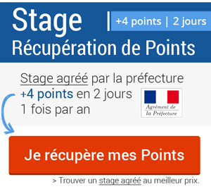 Stages de récupération de points en France