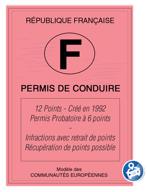 nombre points permis blog stagespointspermis infographie permis probatoire et conduite. Black Bedroom Furniture Sets. Home Design Ideas